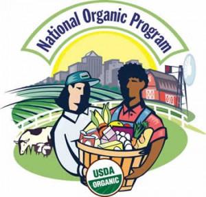 USDA Orgainic label